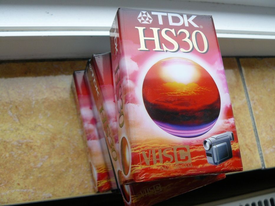 Casete video TDK Vhs C, Noi
