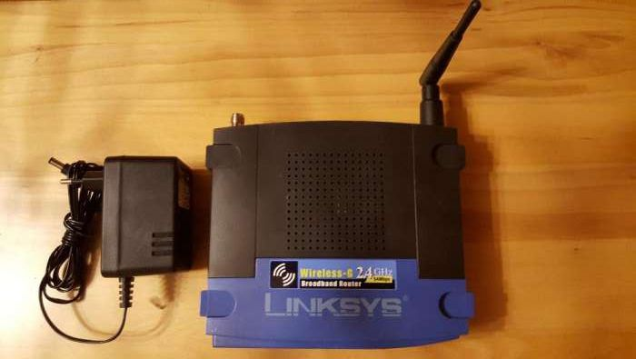 Vand router wireless Linksys G2.4 Ghz