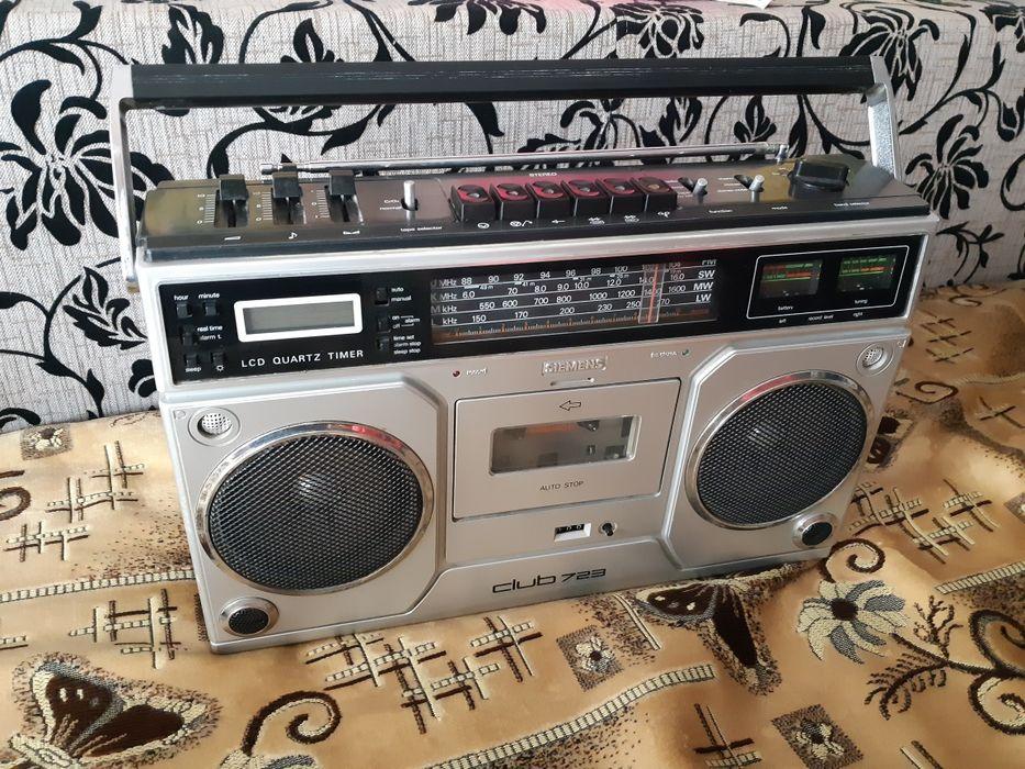 Radio casetofon Siemens Club