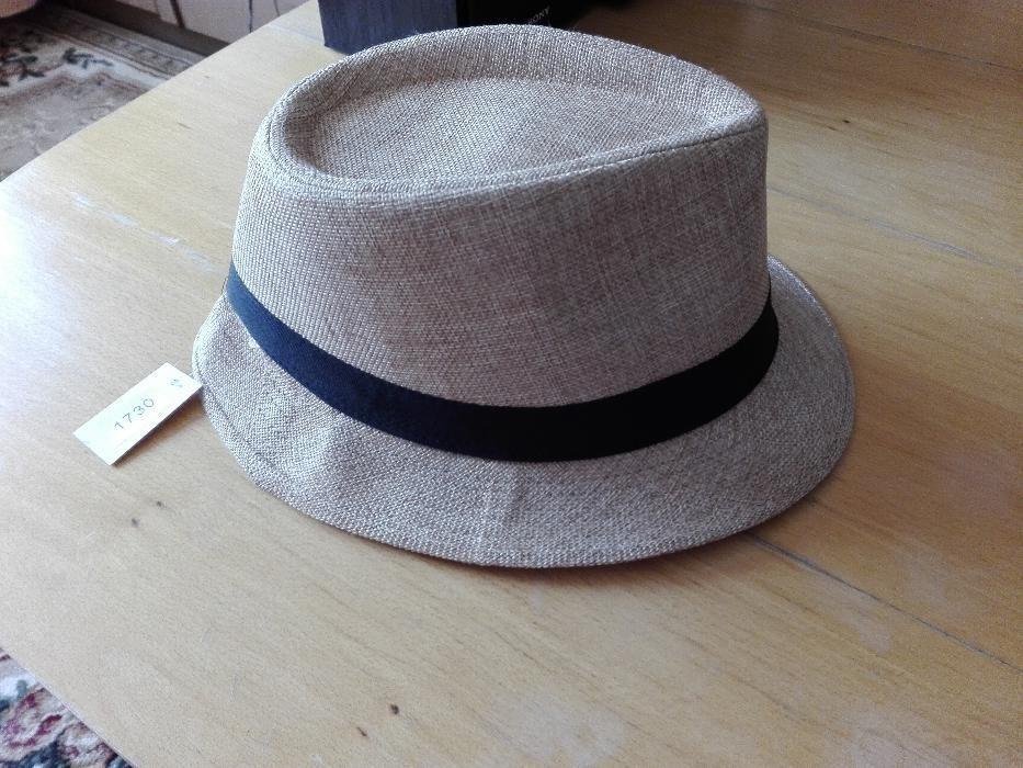 Нова сламена шапка с етикет