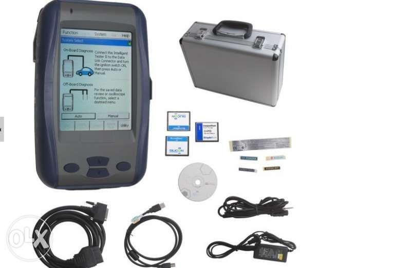 Диагностика заТойота - Тoyota Intelligent Tester II с осцилоскоп