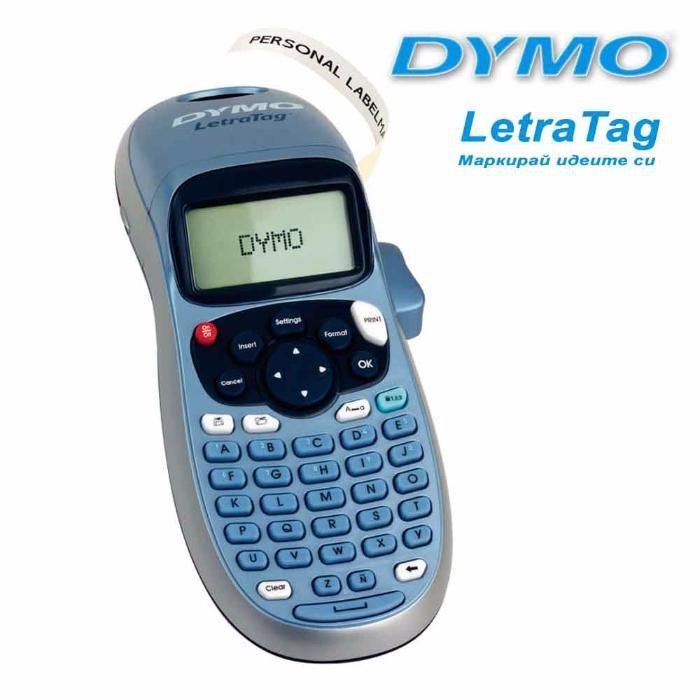 НОВ принтер Dymo LetraTag