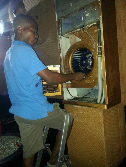Reparação de ar condicionado Geleiras Arcas e Bebidouris
