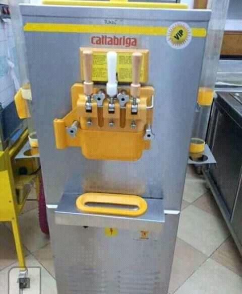 Maquina de gelado