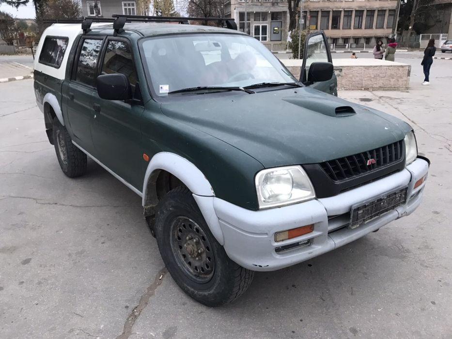 НА ЧАСТИ! Mitsubishi L200 2.5TDi, 99кс. Hardtop, Климатик, ЛЯВ ВОЛАН гр. София - image 2