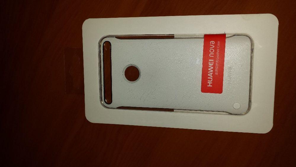 Capac de protectie Huawei Nova, Alb