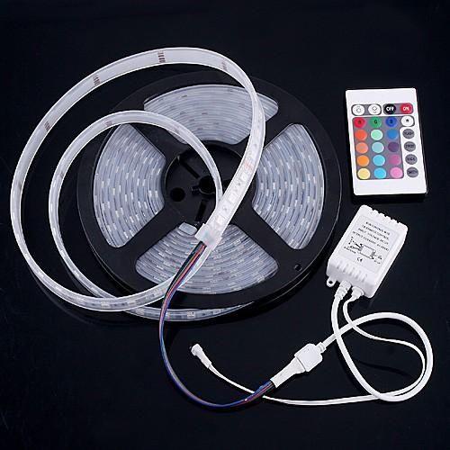 Kit banda led RGB cu telecomanda amenajari decoratiuni luminoase