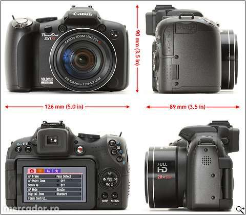 850Canon SX1 IS