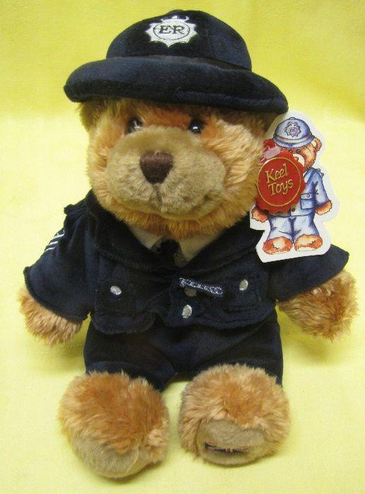 Ursuleț pluș polițist britanic