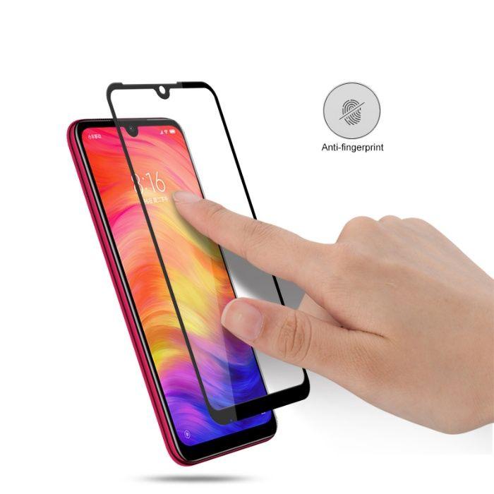 Закален удароустойчив 6D стъклен протектор за Xiaomi Redmi Note 7 гр. Шумен - image 3