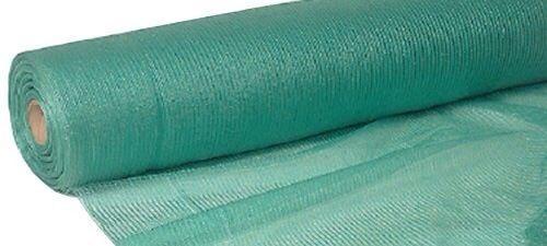 Plasa verde pentru gard antivant 2x100 m grad de umbrire 90%