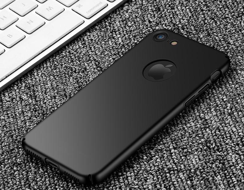 Thin Fit ултра тънък твърд мат кейс за iPhone 7, 8