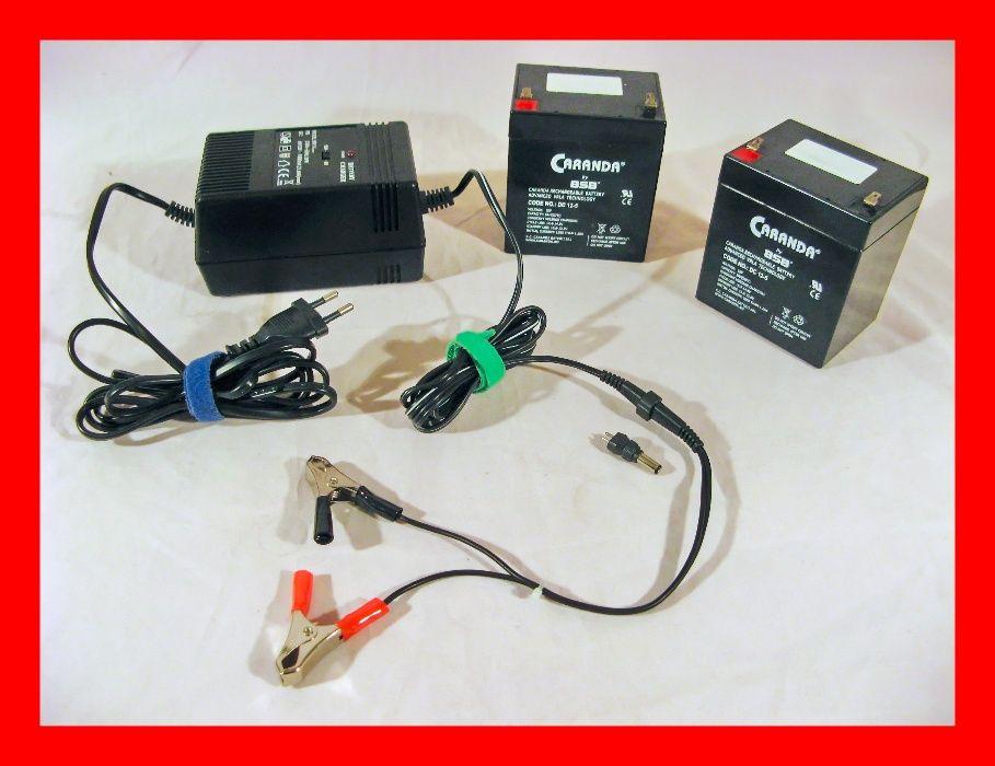 Incarcator charger baterie acumulatori cu gel (Pb) 6V -12V + Bonus