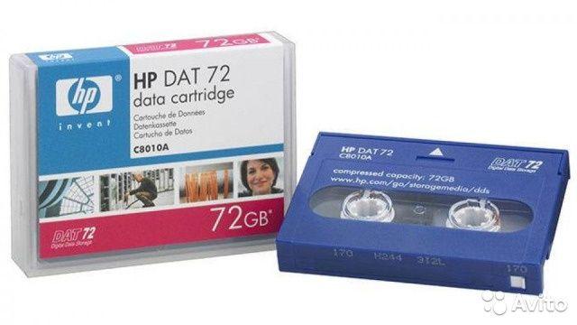 HP DAT 72 (C8010A) Ленточный картридж