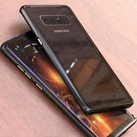 Husa Samsung GALAXY NOTE 8, Magnetica 360 grade cu sticla securizata