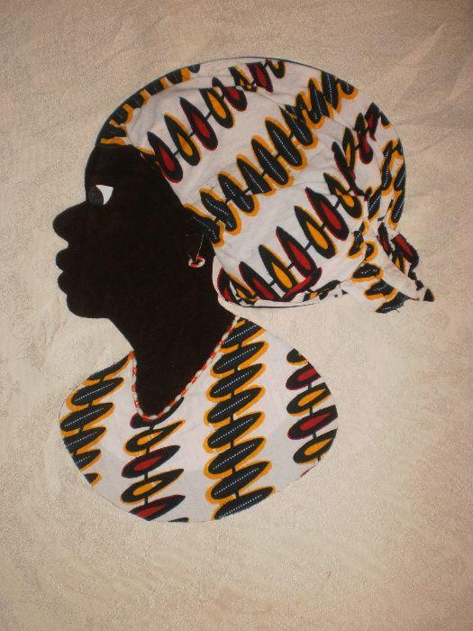 Африканка-картина от текстил върху текстил-варианти гр. София - image 1
