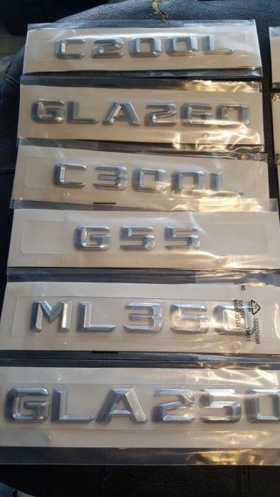 Емблема за багажник на мерцедес ML,S,E,C,R,CL,GL,class