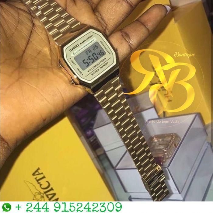 224d6293d9d Relógio Casio A Venda Na Boutique RB Angola Puxa No WhatsApp Pra Mais Vila  Alice