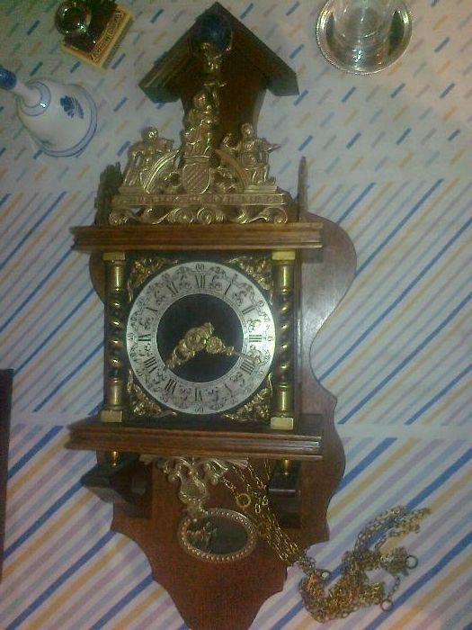 Bronz/Alama/Antichitati/Ceas de perete/Colectii/Vintage/Arta/Colectii