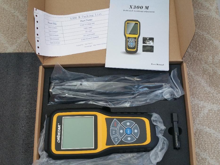 OBDSTAR X300 M - aparat modificare / ajustare KM OBDII update Online