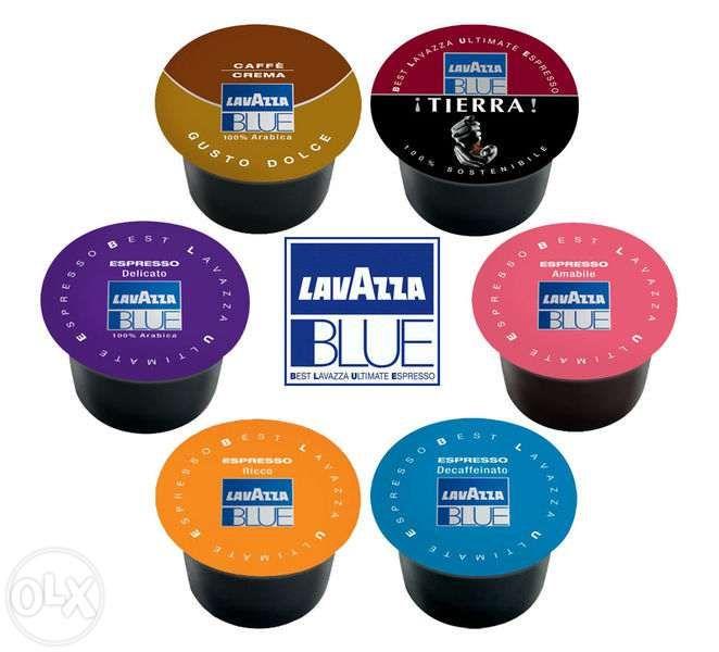 Capsule cafea Lavazza blue