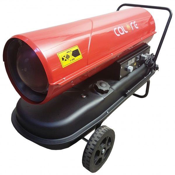 Tun de caldura pe motorina D50T - Calore