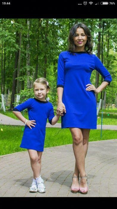 Платье мама и доча