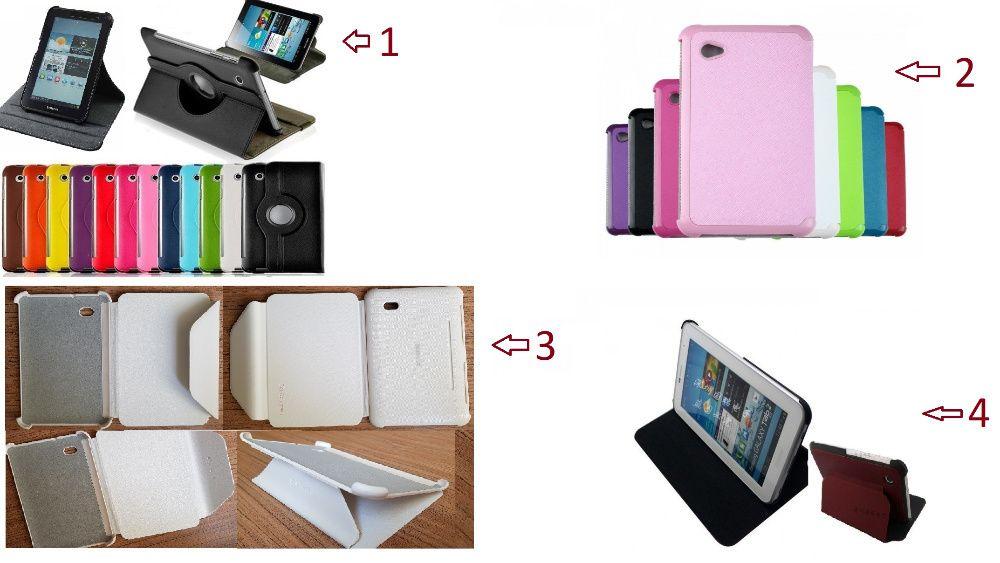 Husa rotativa 360 Samsung Galaxy Tab 2 7'' P3100 P3110 3113 + bonus
