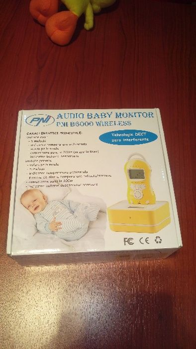 Baby Monitor PNI B6000 - Wireless - Audio