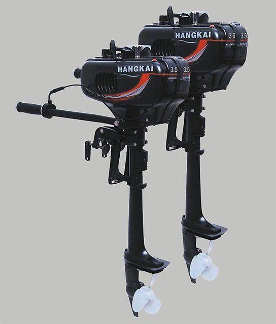 Лодочный мотор 2х тактный HANGKAI 3.5л