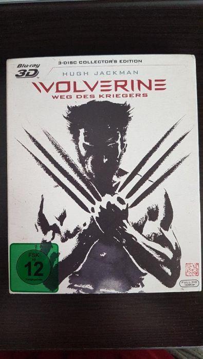 Wolverine - Weg des Kriegers (3D & 2D Blu-Ray + Extended Cut) 3 Discs