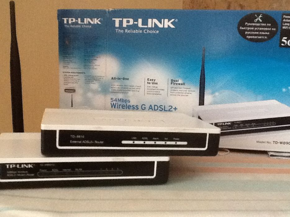 Продам роутере TP-link модели 8901,8810