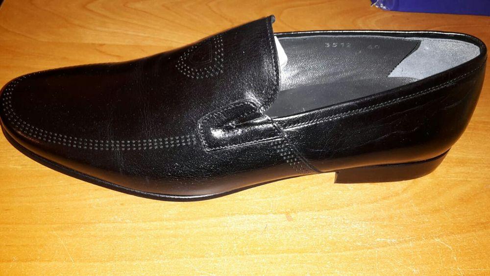 Туфли кожаные новые размер 40-41.Скидка в честь праздника