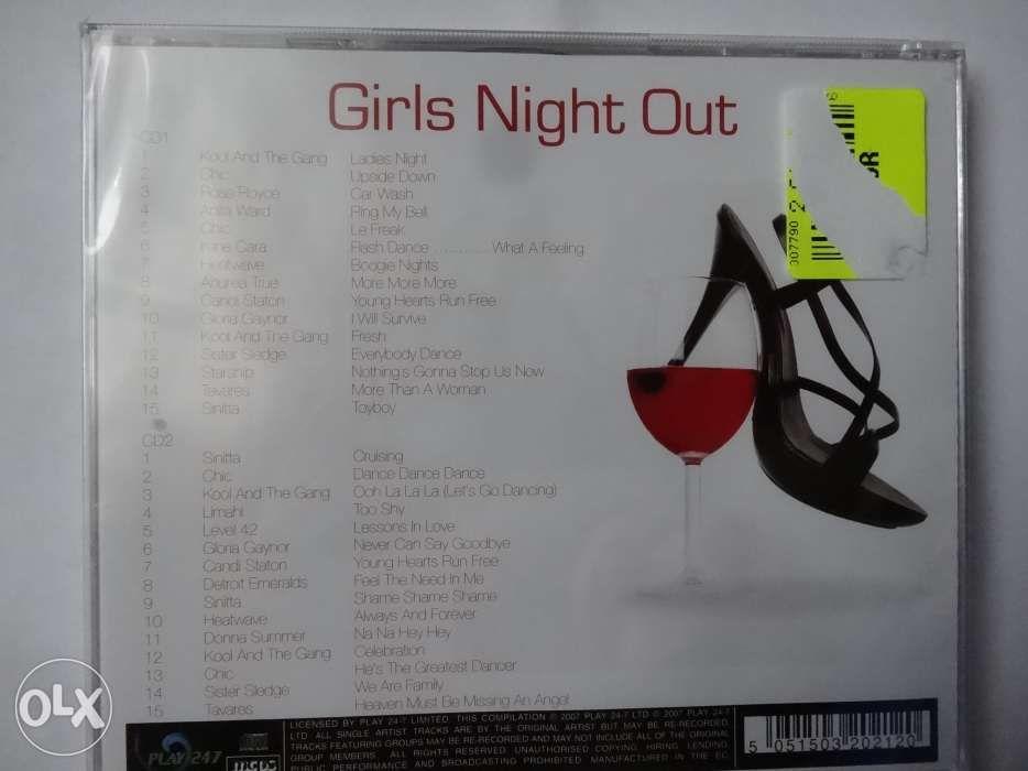 CD-uri - Kenny Rogers, Frank Sinatra diverse../Girls Night