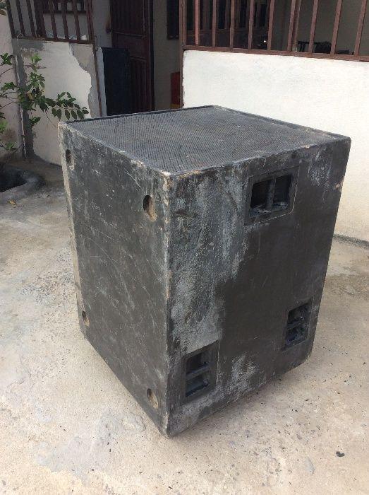 Caixa de Grave duplo pré-fabricado (SÓ caixa 100 Ufer)