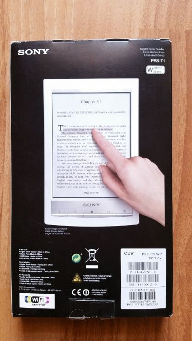 eBook reader SONY PRS-T1
