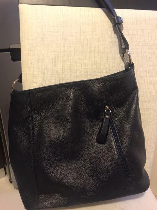 Дамска чанта от естествена кожа Daphne