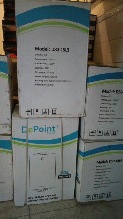 Termo acumuladores depoint 80L novos na caixa