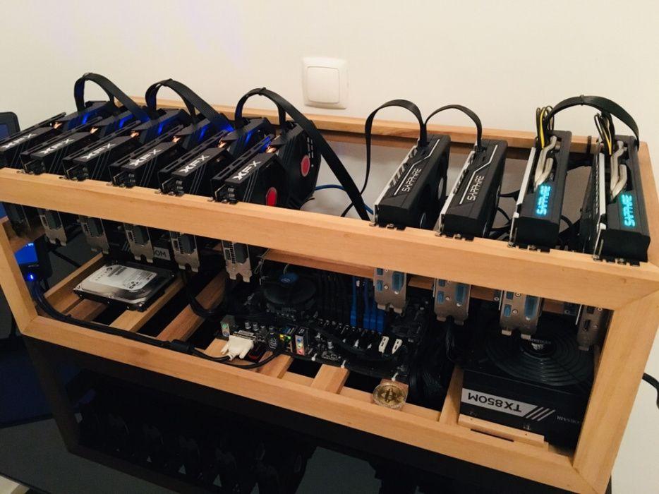 Mineração Cryptomoedas Bitcoin Ethereum