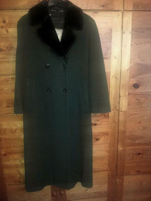 Дълго палто от фин кашмир
