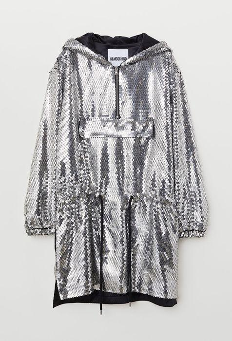 Rochie cu paiete argintie Moschino, mărimea XS