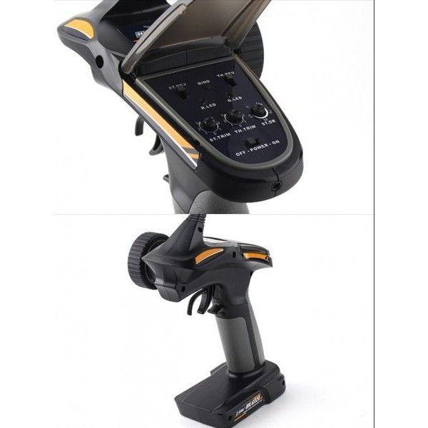 Radiocomanda automodel / navomodel FlySky GT-2E 2.4Ghz (Hobbyking)