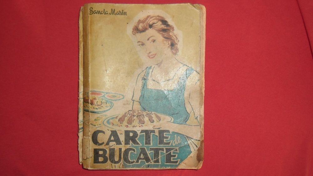 Carte de bucate Sanda Marin Editia a IV-a -1959