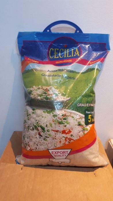 Arroz Basmati Cecilia saco de 20 kg