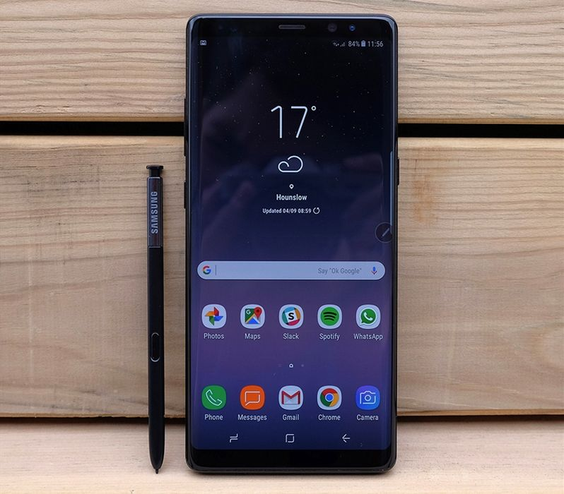 Samsung Note 8 sem caixa