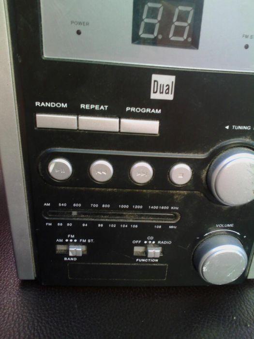 Cd radio stereo microsistem Dual