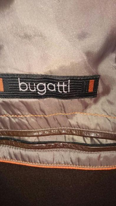 Уникално кожено яке Bugatti