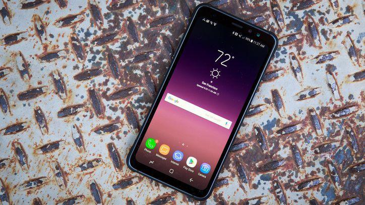Samsung S8 active!