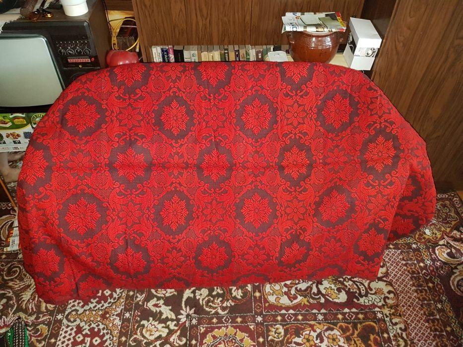Покривка вълнена и килимче