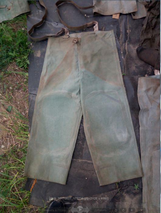 шахтерский костюм ЛГН(СССР)-прорезиненный